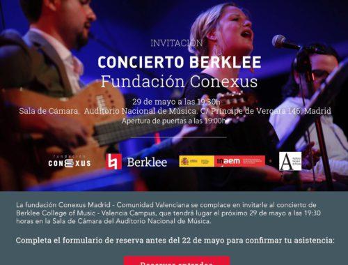 concierto-fundacion-conexus-berklee-college-of-music-madrid