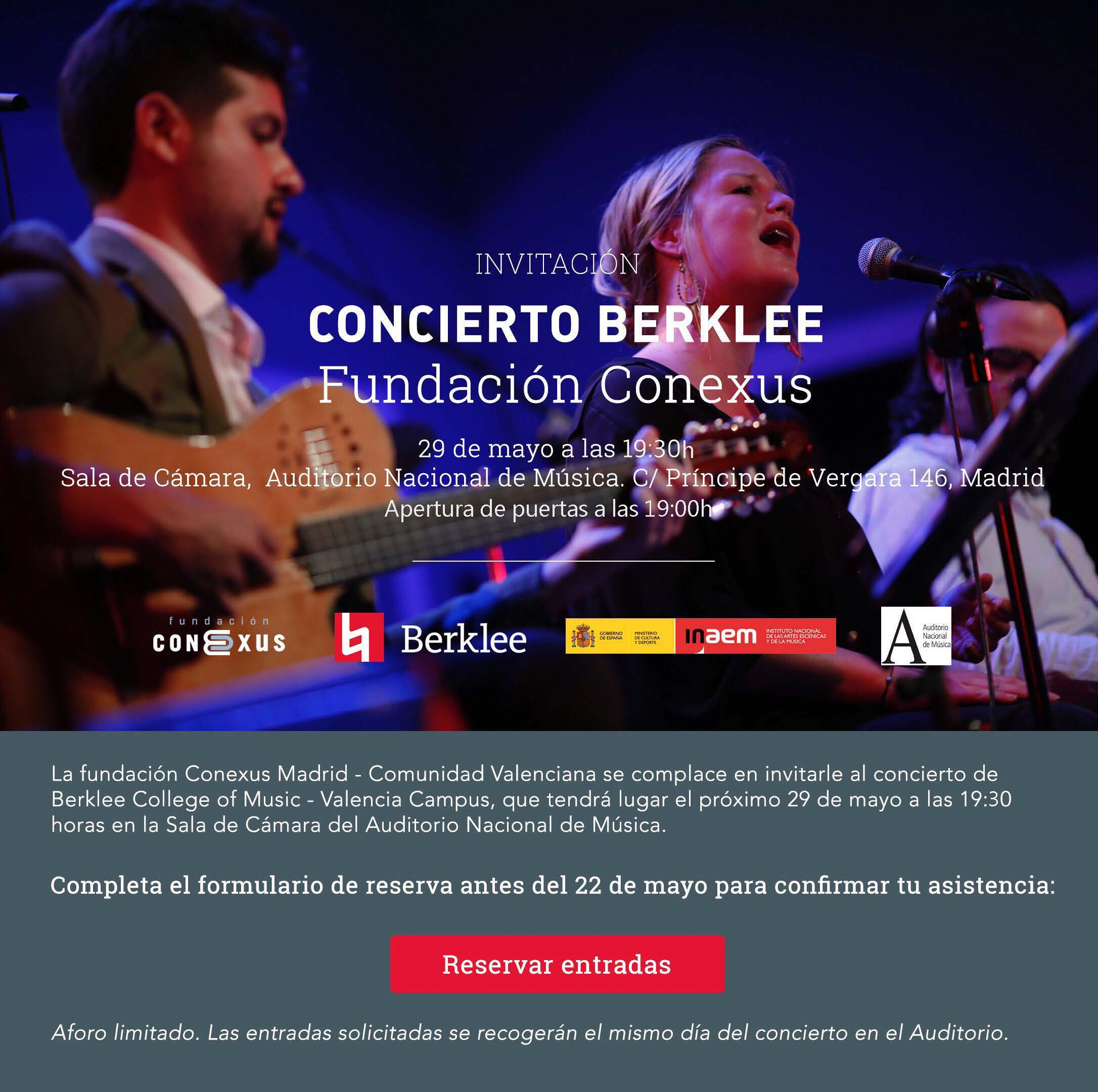 concierto-fundacion-conexus-berklee-college-of-music-madrid