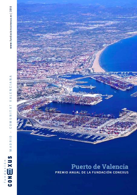 memoria-fundacion-conexus-2018-con-la-portada-del-puerto-de-valencia-ganador-del-premio-conexus