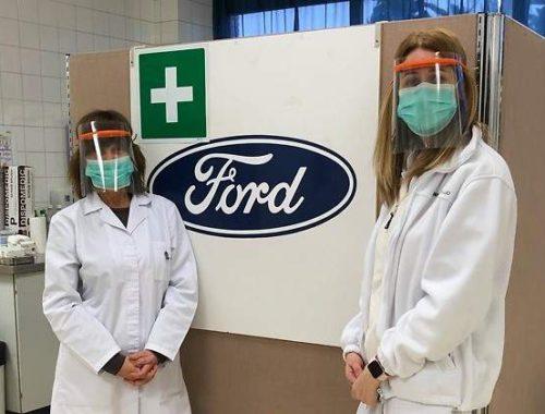 ford-empieza-a-fabricar-mascaras-faciales-para-sanitarios-en-valencia